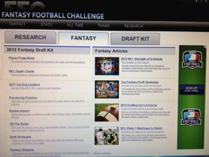 Fantasy Football Advice Updated Daily